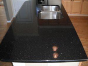 Cuisine Noir Galaxy – granites & marbres