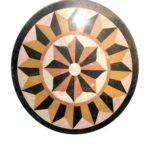 Rosace marbre - Decor au sol