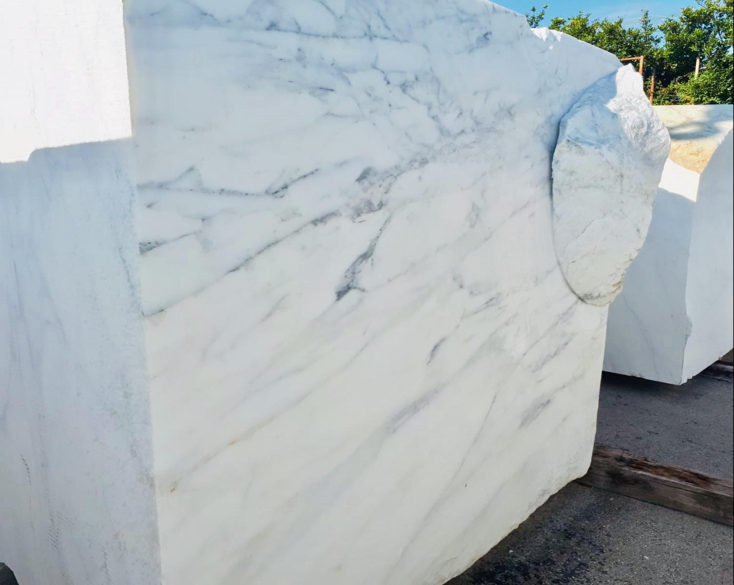 Blanc Calacatta Caldia block Italie
