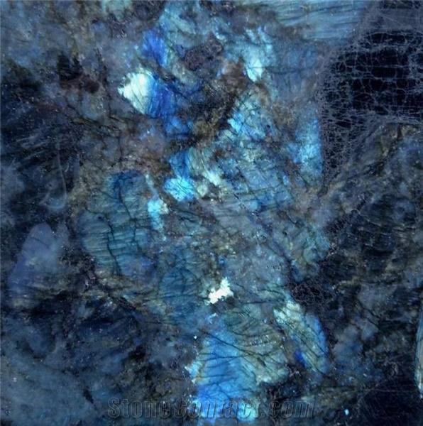 Labradore bleuté granite